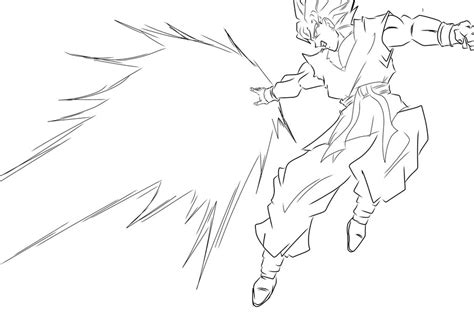 free if 2 goku coloring pages