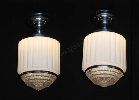 Antique Kitchen Lighting Fixtures Vintage Schoolhouse Deco Lighting Fixtures Antique Kitchen Lighting