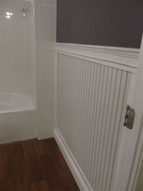 hometalk beadboard bathroom redo