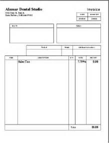 dental invoice template 10 best images of dental receipt template dental invoice