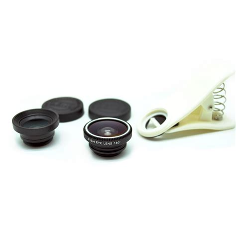 universal clip lens fisheye 3 in 1 180 degree fisheye