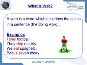 verb kinds of verbs