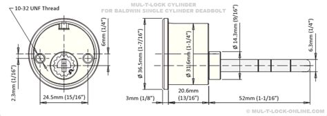 baldwin mortise lock diagram mul t lock 187 mul t lock cylinder for baldwin deadbolt