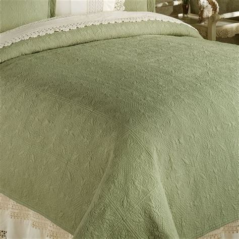 william and mary coverlet reversible elise matelasse quilt bedding