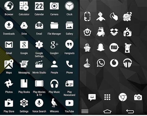 20 best free icon packs to customize your android - Icon Pack Android