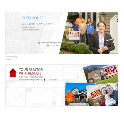 new real estate cover templates free real