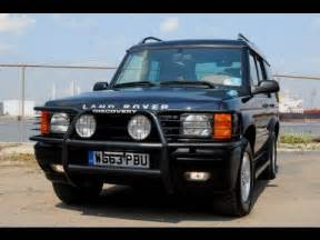 2000 land rover discovery series ii problems