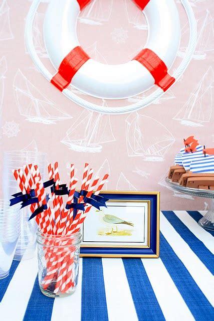 nautical theme ideas kara s ideas nautical themed sailboat birthday