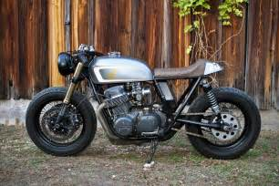 Honda Cafe Racers Emotional Achievement Tyson S Honda Cafe Racer Return