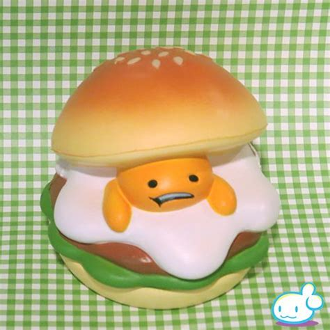 Squishy Licensed Gudetama Burger Original 1000 images about squishys on kawaii shop