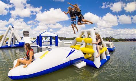blibli water sports 50 minute aqua park session bli bli aqua park groupon