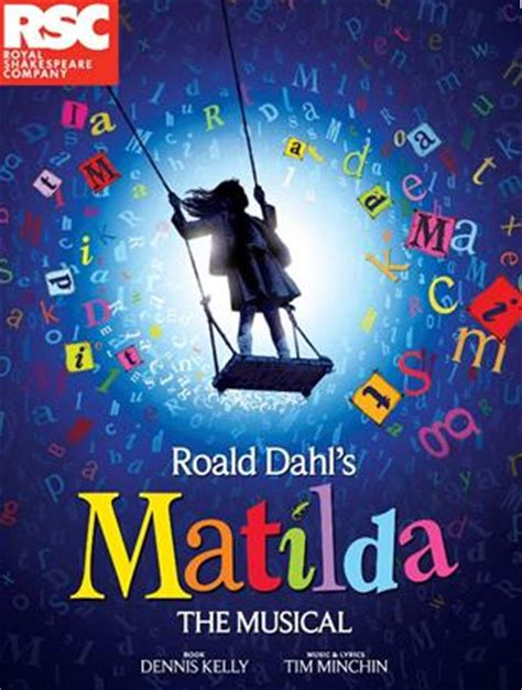 matilda the musical books matilda the musical at the cambridge theatre stet journal