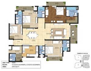 Home Plan Design 4 Bhk | 4 bhk home plan house design plans