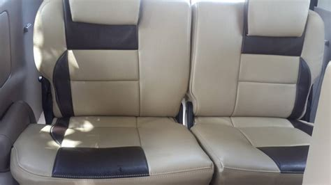 Rear Seat Hook Cover Innova toyota innova seat covers car seat covers design leather interior upholstery