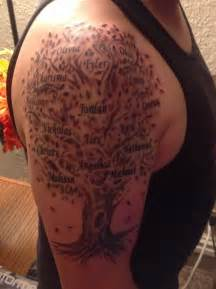 family tree tattoo familytree tattoo milwaukeeink