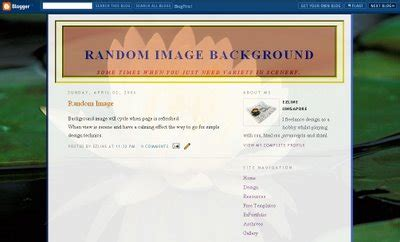 blogger themes html codes blogger templates random image background theme