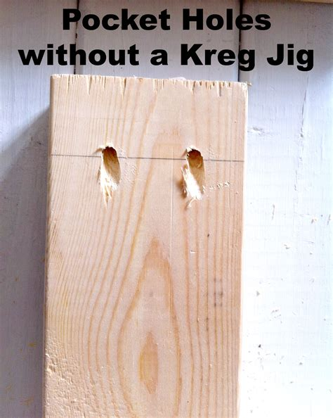 30 Kitchen Island by How To Make Pocket Holes Without A Kreg Jig Mom In Music