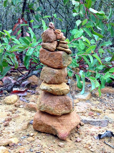 garden and bliss rock stacking