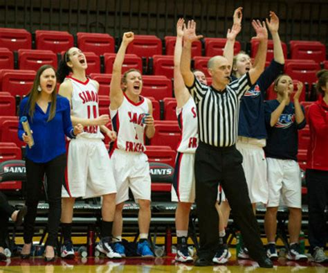 basketball bench cheers sfu women s hoops killing it at the big dance pucked in