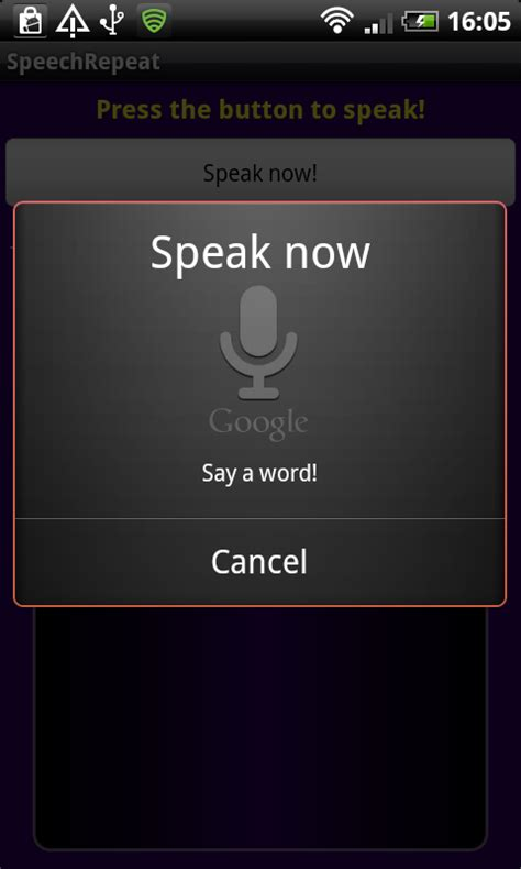 android voice recognition android application for speech voice recognition javatyro