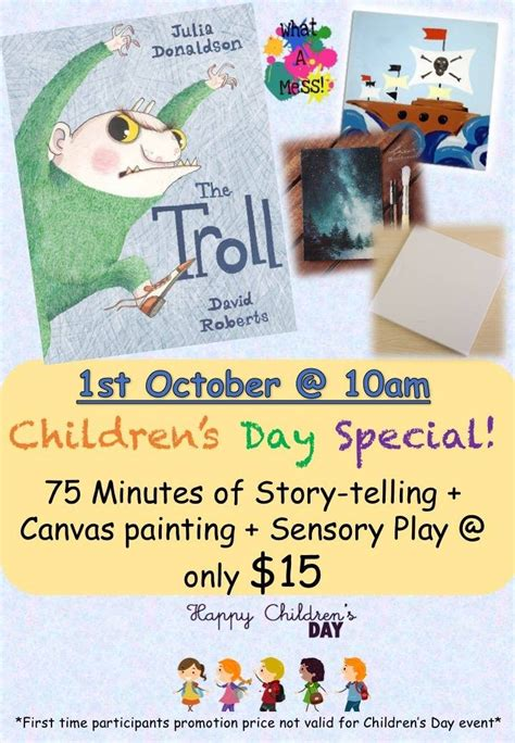 s day event the troll children s day event tickikids singapore