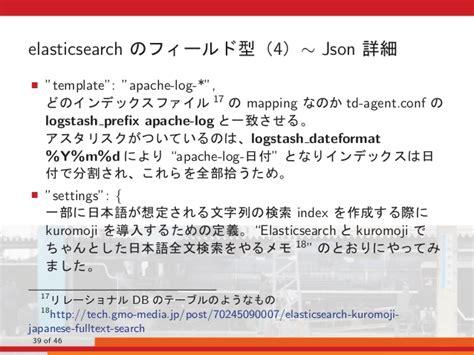 Piwik Elasticsearch Kibana At Osc Tokyo 2016 Spring Elasticsearch Template Mapping