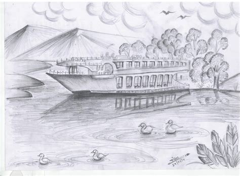 pencil sketch designs photos pencil sketches of sceneries beautiful nature scenery pencil sketches drawing collection