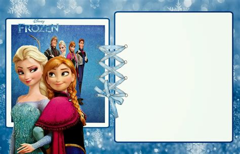 frozen birthday card template frozen free printable invitations is it for is it free is it has