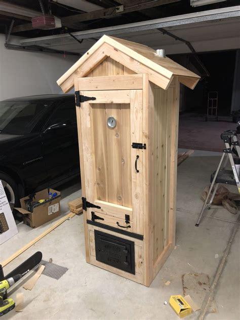 homemade smokehouse diy smoker built   bypass