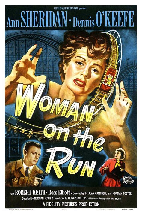 film it and run woman on the run extra large movie poster image imp awards