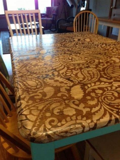 Decoupage Dining Room Table - wonderful decoupage dining room table images best idea