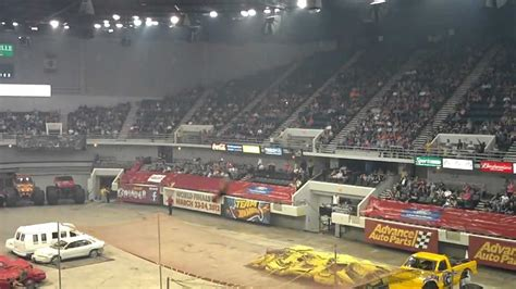 monster truck show huntsville al canon lady youtube