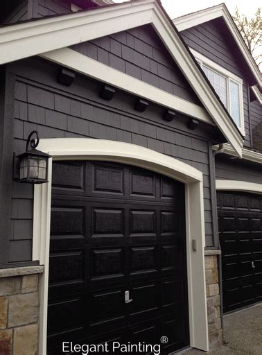 Painting Garage Doors Siding Trim Or Accent Color Garage Door Paint Colors