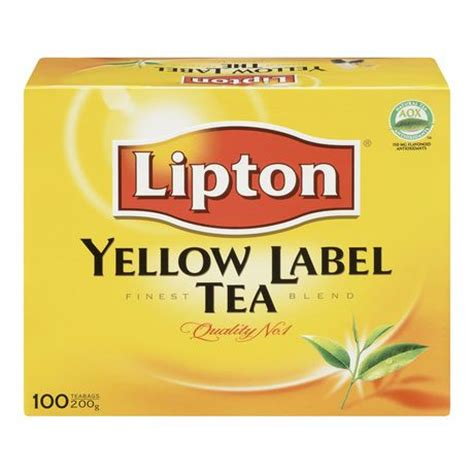Teh Lipton Yellow Label Tea lipton 174 yellow label tea bags walmart canada