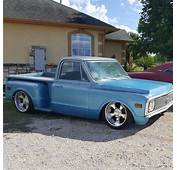 1972 CHEVROLET STEPSIDE C10 AIR RIDE CUSTOM HOT ROD PATINA