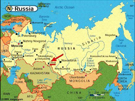 maps: world map siberia