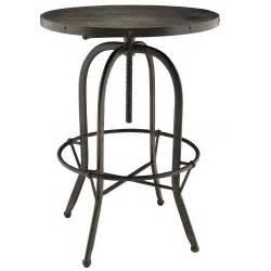 Black Bar Table Bar Pub Tables Sets Sylvan Black Wood Top Bar Table Eei 1200 Blk 0