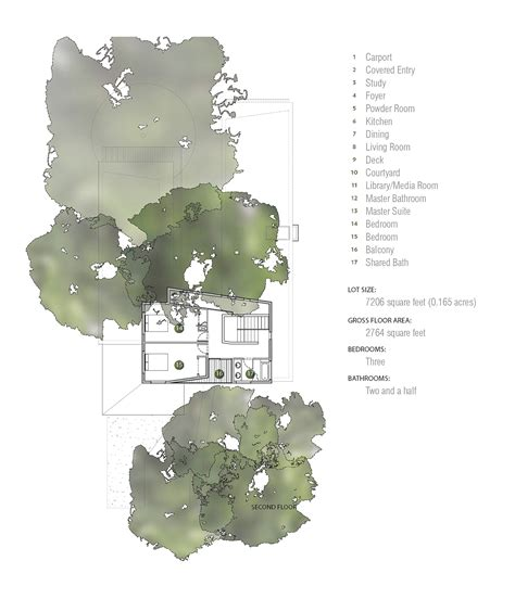 tree floor plan gallery of tree house matt fajkus architecture 23