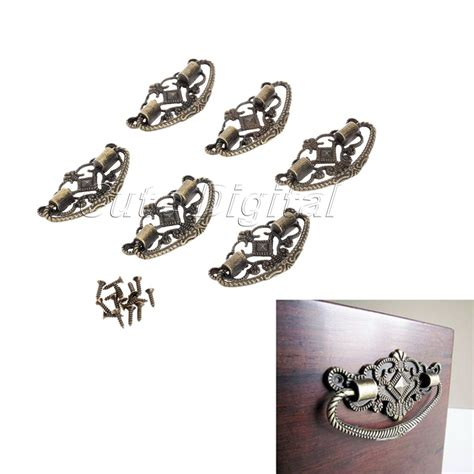 Knobs For Furniture by Aliexpress Buy 6pcs Antique Brass Cabinet Knobs And