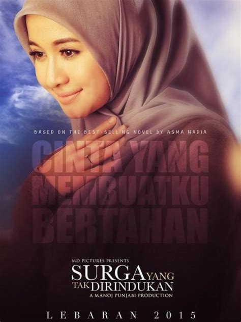 poster terbaru film surga yang tak dirindukan hello hijabers surga yang tak dirindukan rilis poster teaser pemain