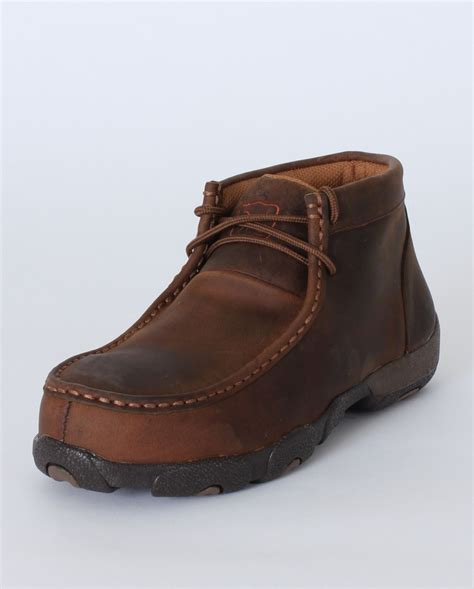 twisted x boots 174 steel toe driving moccasins
