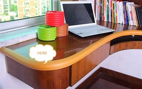 desk corner guards baby safety table desk edge cushion rubber foam furniture