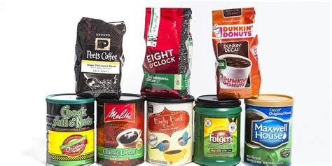 espresso coffee brands decaf coffee taste test the good the bad and the really