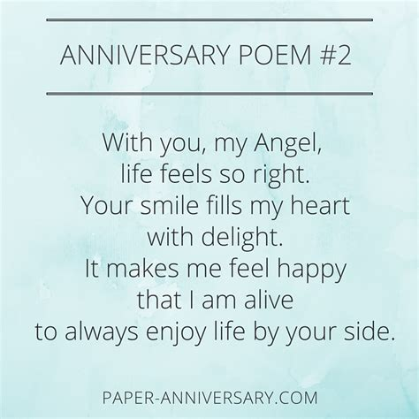 Wedding Anniversary Poems by 10 Epic Anniversary Poems For Him Readers Favorites