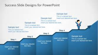 success powerpoint templates success in four steps powerpoint slides slidemodel