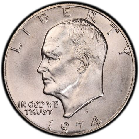 1974 eisenhower dollar values and prices past sales coinvalues com