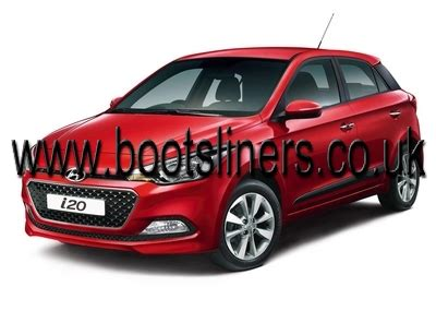 upper boat car dealers hyundai i20 boot liner 2014 onwards bootsliners