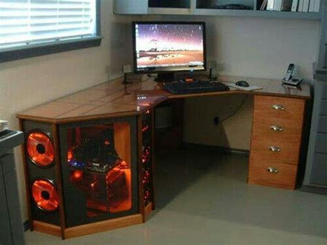 cool computer desk another cool computer desk diy pc desk ideas