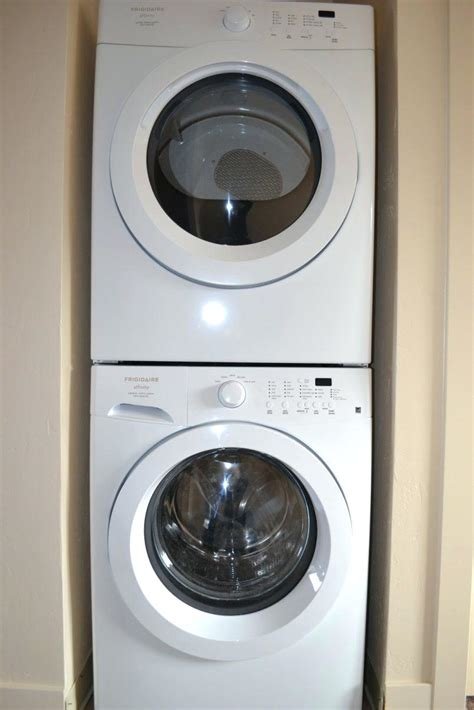 Stackable Washer Dryer For Apartment Apartment Size Washer And Dryer Dimensions Stackable