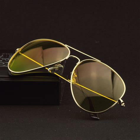 Kacamata Vision Day And Polarized Lens 2016 vision driving glasses polarized yellow driver sunglasses for anti glare in